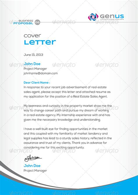 Creative Offer Letters Genus Corporate Clean Creative Business By Contestdesign