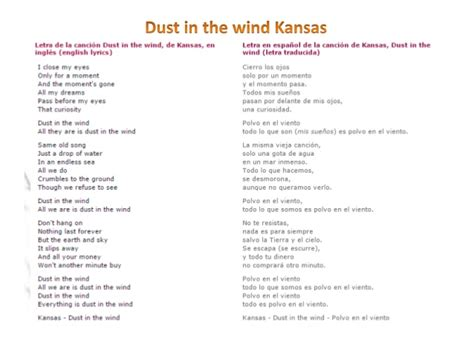 kansas dust in the wind wow what a top 5 de las mejores baladas de los 80 y 90
