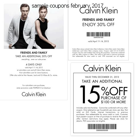 printable calvin klein outlet coupons free promo codes and coupons 2018 calvin klein coupons
