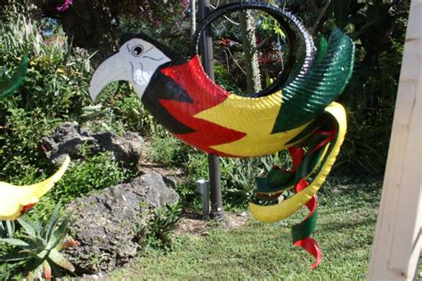 Recycled Tire Parrot Planter pin by judith walton on recycled tire planters bird feeders and parr
