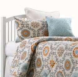 orange and gray bedding modern comforter sets aqua and orange bedding sets liz