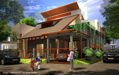 desain atap rumah tropis konsultan arsitek surabaya l desain arsitektur dan