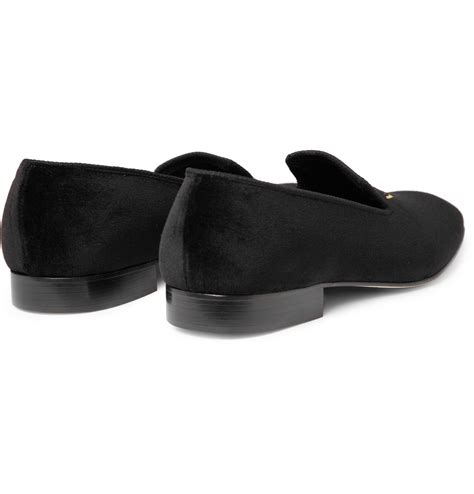 church s slippers church s sovereign embroidered slippers in black