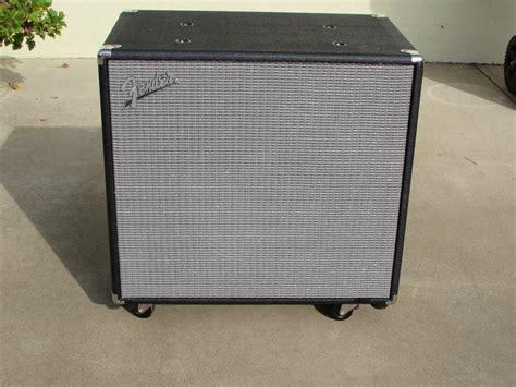 fender rumble bass cabinet fender rumble 115 1x15 quot 300 watt bass cabinet reverb