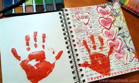 art design education journal kids art journal prompts love