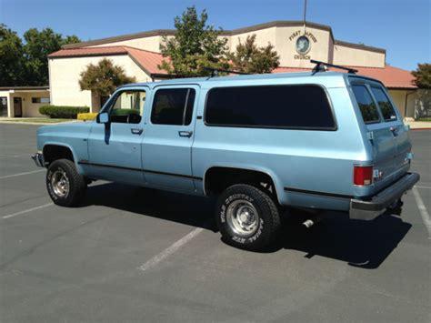 how petrol cars work 1993 gmc suburban 2500 regenerative braking 1990 gmc suburban 4x4 clean and rust free chevrolet