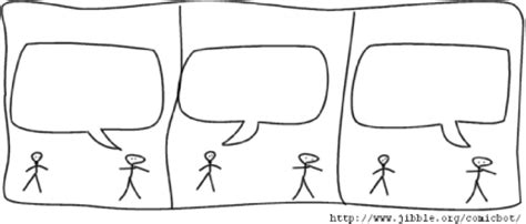 blank comic strip templates