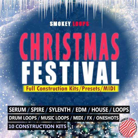 midi elements deep house drums royalty free drum hits smokey loops christmas festival