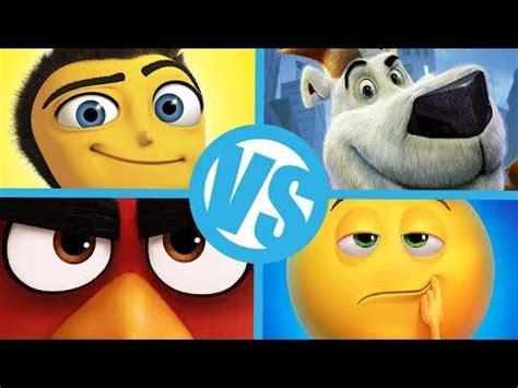 bee film emoji emoji movie vs angry birds vs norm of the north vs bee