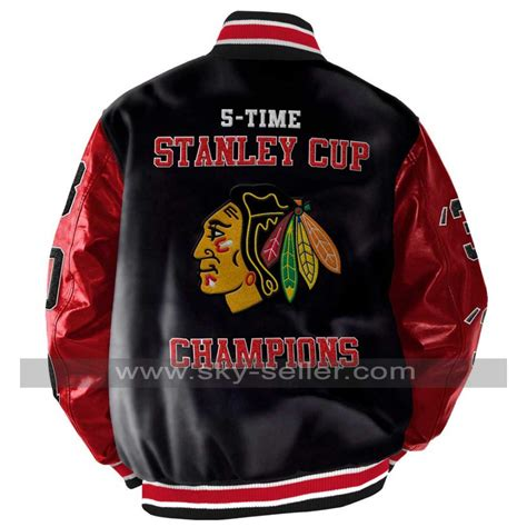 stanley chions blackhawks chicago leather jacket
