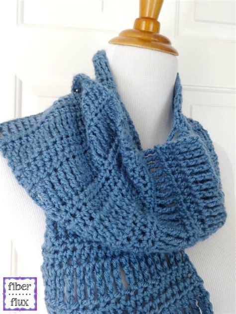 crochet pattern free video crochet scarf free pattern