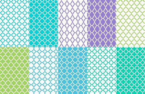 quatrefoil pattern illustrator seamless vector quatrefoil patterns medialoot