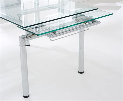 Calgary Dining Table Calgary 140cm Extending Glass Dining Table The Great Furniture Trading Company