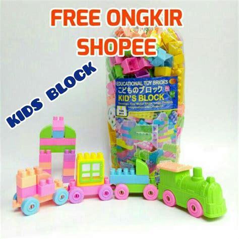 Mainan Edukasi Blok Block Lego Lepin Kado Anak ongkir1kg lego mr block bongkar pasang edukasi blok block balok mainan anak