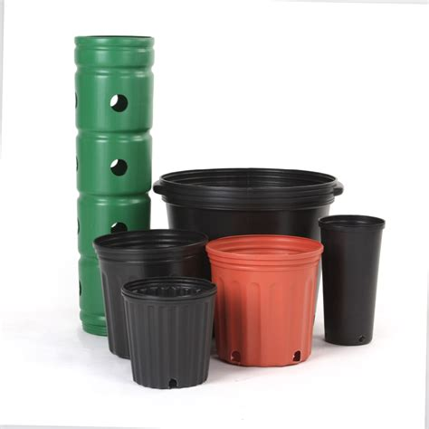 buy garden pots not coated pe plastic cheap small 2 gallon nursery pots