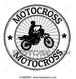 Dirt Bike Wall Murals clip art of motocross stamp k15623947 search clipart