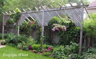 Creative Garden Fence Ideas How To Make A Fence Taller Empress Of Dirt