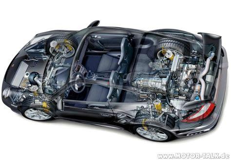 Motor Porsche by Porsche 911 Gt2 08 Schnittzeichnung Vom Gt2 Porsche