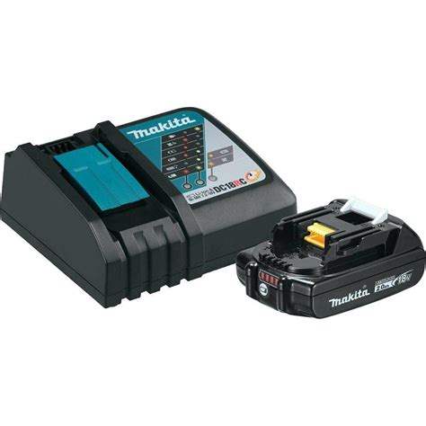 makita 18 volt 2 0ah lxt lithium ion battery and charger
