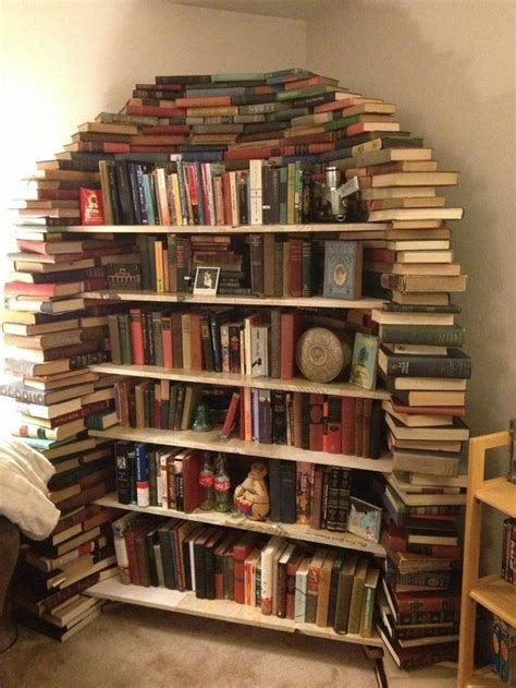 25 best ideas about creative bookshelves on