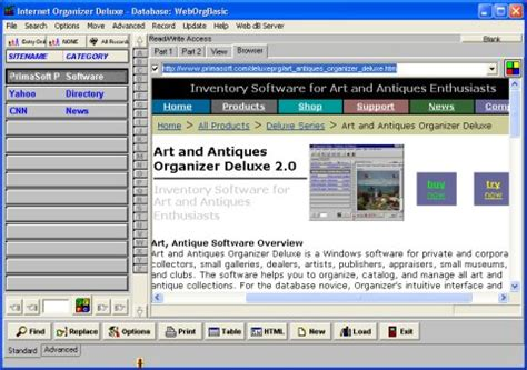 book organizer software that allows book collectors
