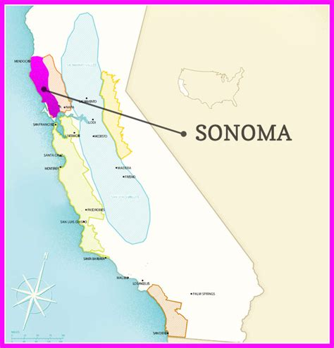 sonoma winery map sonoma valley wine map pictures to pin on pinsdaddy