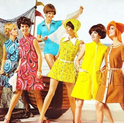 clothes for women in their 60s 1960s fashion what did women wear