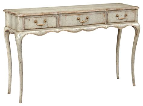 french provincial sofa table jonathan charles french provincial grey painted console