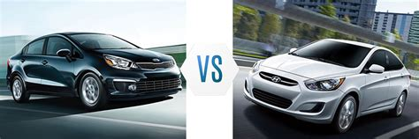 Hyundai Accent Vs Kia 2017 Kia Vs Hyundai Accent