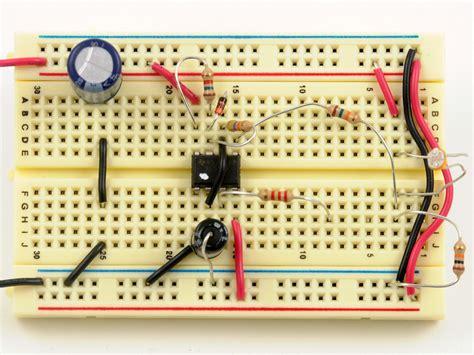 breadboard circuit for 555 timer 555 timer whacker make