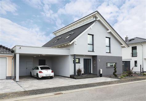 Carport Neben Haus by Carport Pultdach Weberhaus Fertighaus Verliebt Ins
