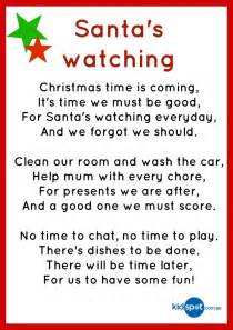 Printable activities poems christmas