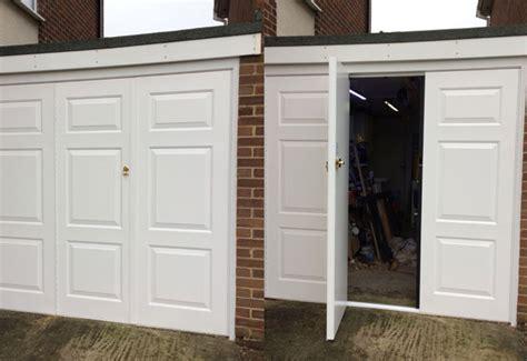 bi fold side hinged garage door in thame oxfordshire