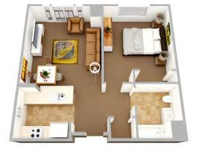 One Bedroom House Plans 50 One 1 Bedroom Apartment House Plans Architecture