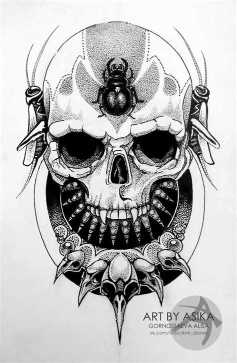 tattoo sketch dotwork by asikaart on deviantart