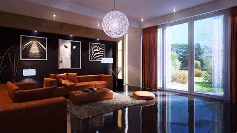subtle display of picture frames in 15 modern living
