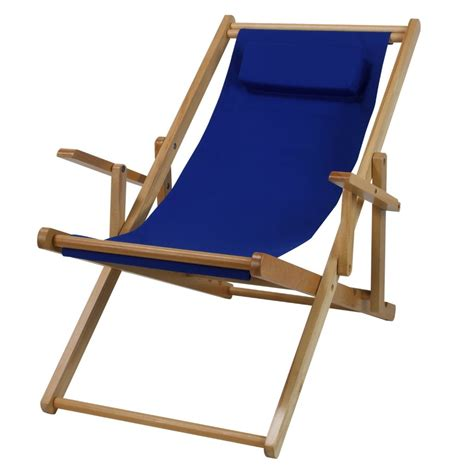 wooden sling chair deck chairs the garden and patio home guide