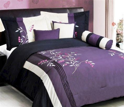 pink comforter king size purple black white pink comforter set vine bed in a bag