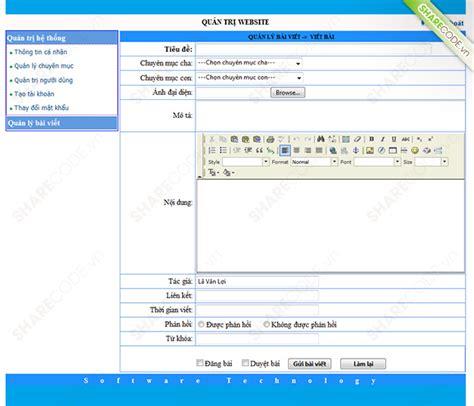 download layout web tin tuc website tin tức c 244 ng nghệ phần mềm full code asp net b 225 o c 225 o