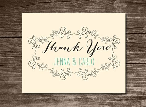 thank you card design template the best thank you cards template designs