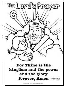 coloring pages about prayer the prayer for children az coloring pages
