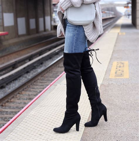 the knee boots with payless the house of sequins
