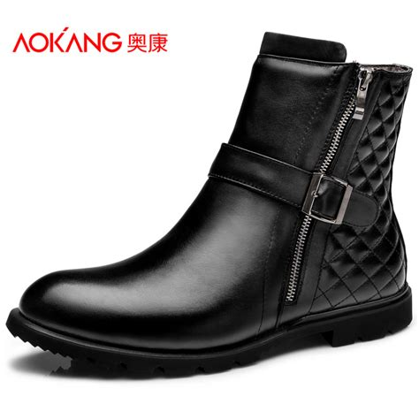 get cheap mens leather boots aliexpress