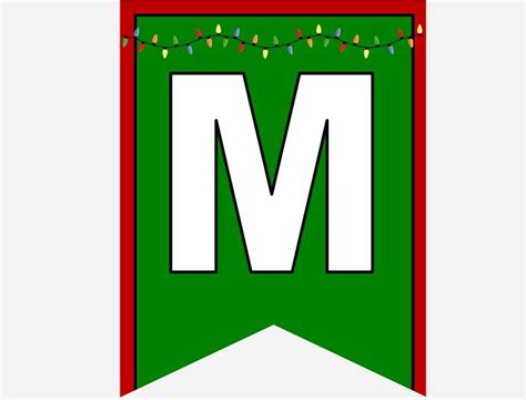 printable christmas banner letters christmas minute to win it party supplies and ideas
