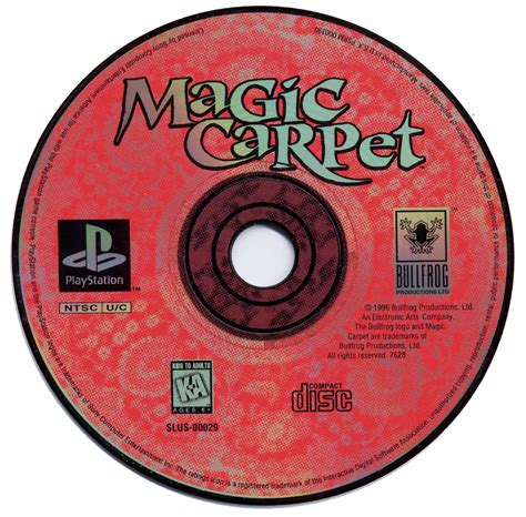 Karpet Ps2 magic carpet slus 00029 psx planet sony playstation