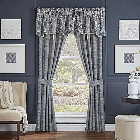 croscill window curtains croscill gabrijel window curtain panel pair and valance in