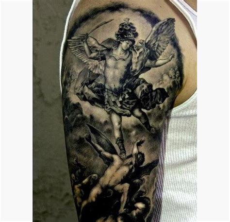 tr st tattoos designs 16 popular st michael design ideas