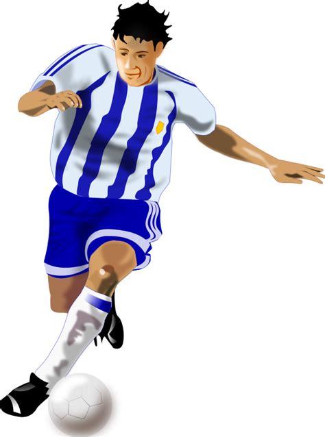 imagenes futbol sin copyright imagenes sin copyright futbolista con equipaje azul y blanco