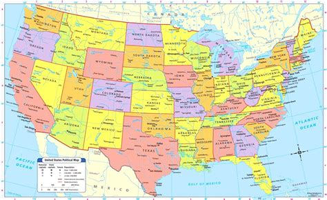 map of united states of america with major cities maps united states map major cities us with cool usa and