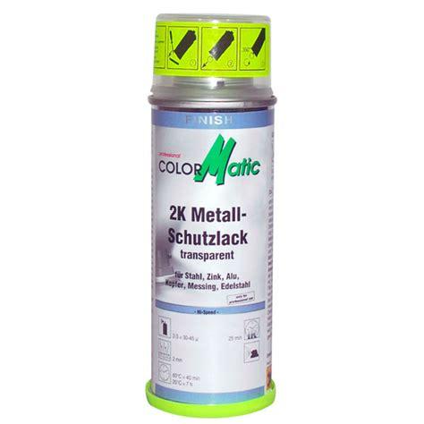 Metall Transparent Lackieren by Colormatic 2k Schutzlack Felgen Versiegelung 200ml F 252 R